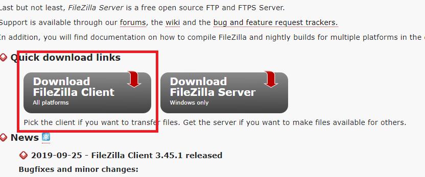 Filezilla client for windows 10 64 bit free